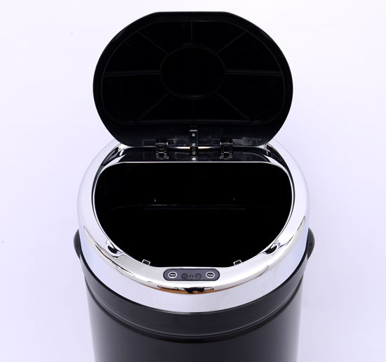 ACCIAIO-Inox-Automatico-Sensore-PATTUMIERA-IMMONDIZIA-SPAZZATURA-CUCINA-CESTINO-NUOVO miniatura 28
