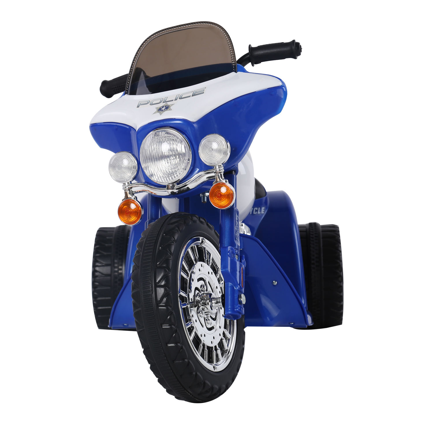 New-Electric-Motorbike-Kids-Ride-On-Toy-Tricycle-Children-Gift-6V-Battery