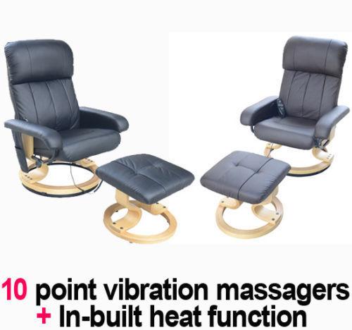 Recliner Massage Chair Arm Chair Armchair Amp Stool