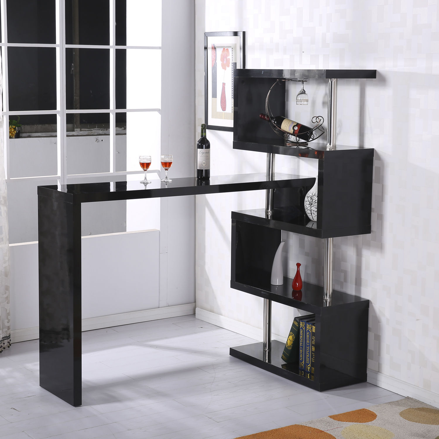 in bar breakfast and com stools portable island ash table bamary black kitchen to go furniture cart tall