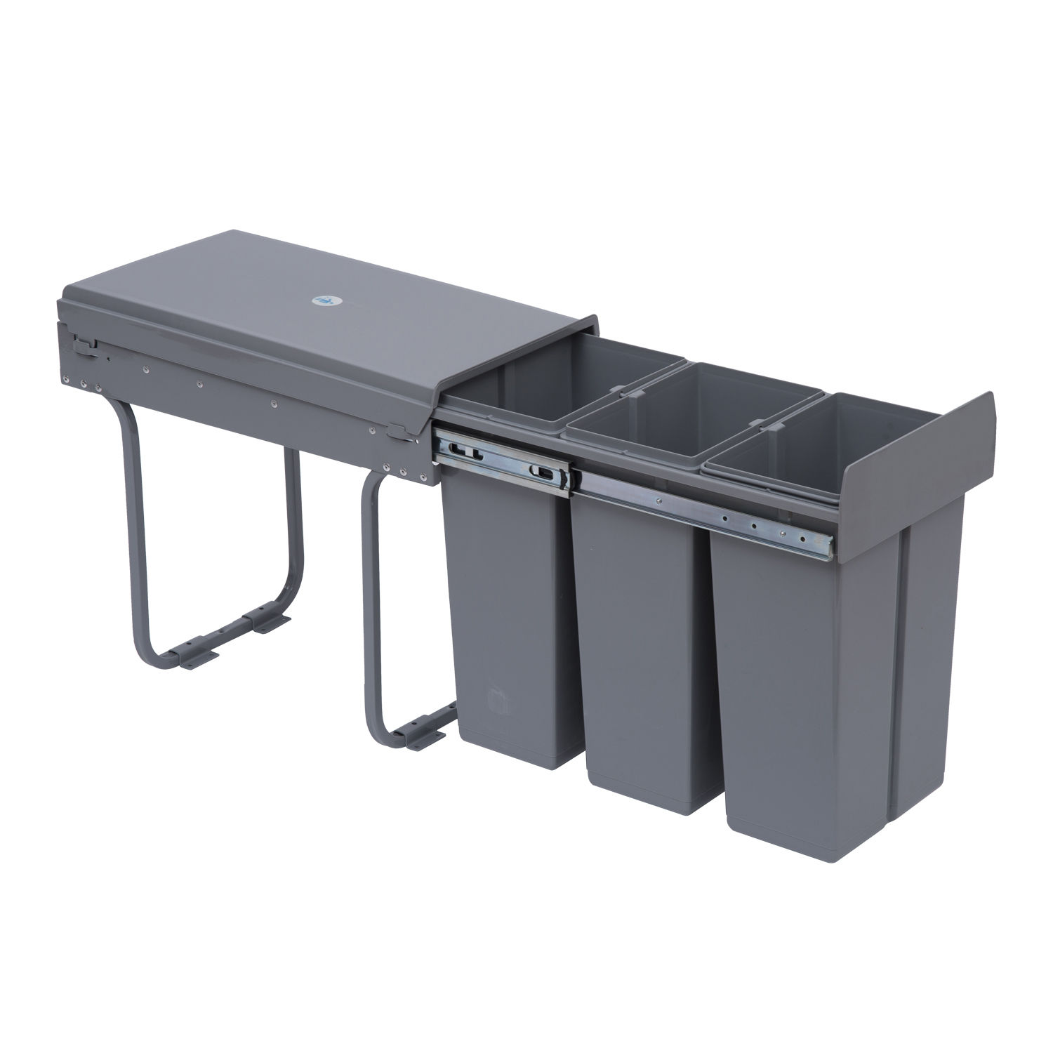 Recycle Waste Bin 30/40L Sorter Recycling Pull Out & Soft ...