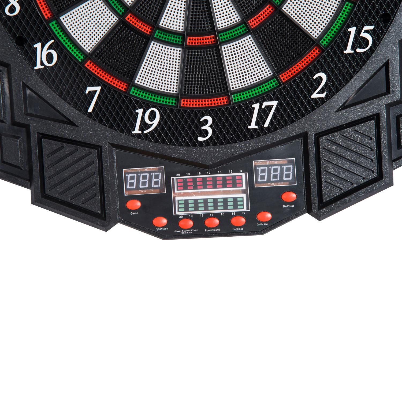 DART-BOARD-ELECTRONIC-DARTBOARD-LED-SCORE-DISPLAY-SOFT-TIP-MANY-GAMES-DARTS thumbnail 31