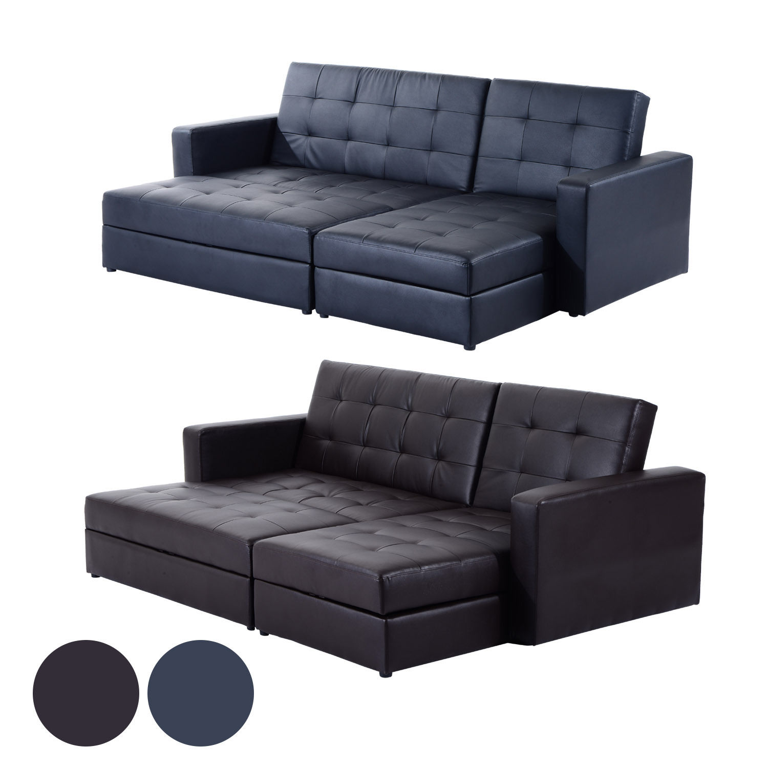 Superb Details About Sofa Bed Storage Sleeper Chaise Loveseat Couch Sectional Living Room Furniture Pabps2019 Chair Design Images Pabps2019Com