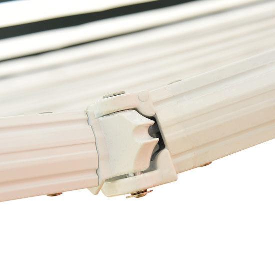 Alu-Markise-Markise-Aluminium-Gelenkarm-Sonnenschutz-5-Farben-4-Groessen-waehlbar Indexbild 60