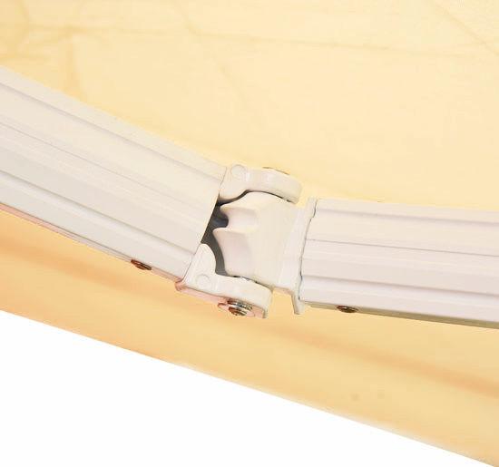 Alu-Markise-Markise-Aluminium-Gelenkarm-Sonnenschutz-5-Farben-4-Groessen-waehlbar Indexbild 19