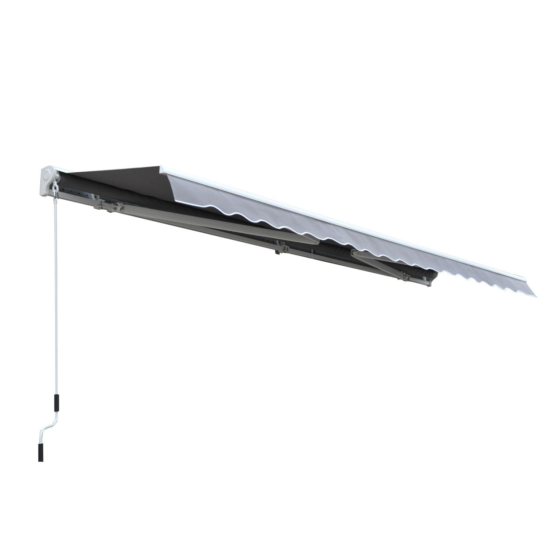 Alu-Markise-Markise-Aluminium-Gelenkarm-Sonnenschutz-5-Farben-4-Groessen-waehlbar Indexbild 44
