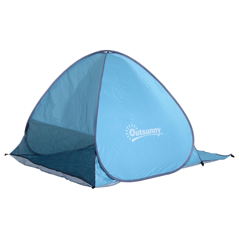 Indexbild 10 - Outsunny-Wurfzelt-Strandzelt-Pop-Up-Zelt-Strandmuschel-Automatisch-Campingzelt