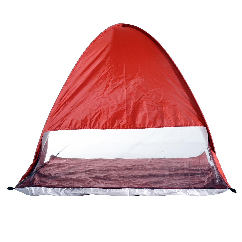 Indexbild 25 - Outsunny-Wurfzelt-Strandzelt-Pop-Up-Zelt-Strandmuschel-Automatisch-Campingzelt