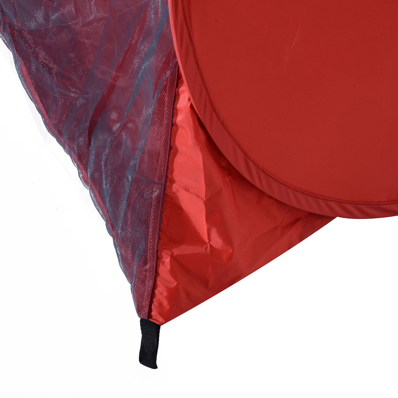 Indexbild 26 - Outsunny-Wurfzelt-Strandzelt-Pop-Up-Zelt-Strandmuschel-Automatisch-Campingzelt