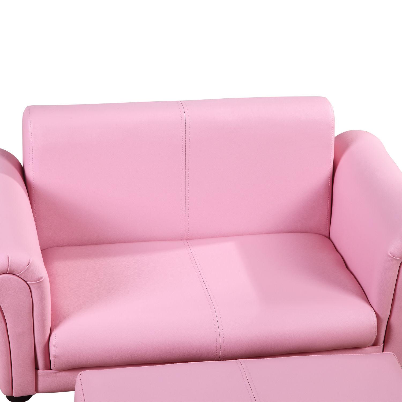 Homcom Kindersessel Kindersofa Sofa Sessel Kinder Softsofa mit ...