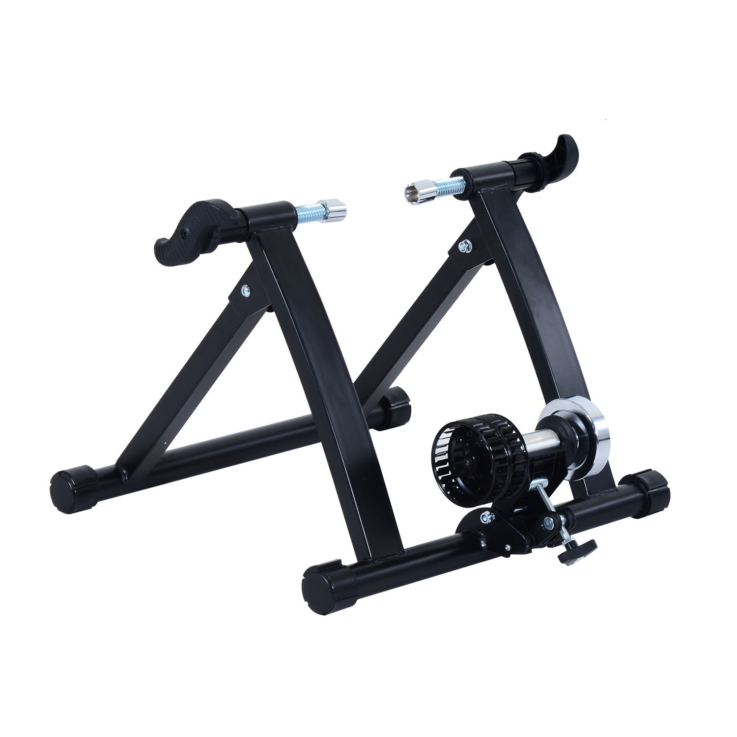 rollentrainer fahrrad luft heimtrainer rolle schwarz 26 28. Black Bedroom Furniture Sets. Home Design Ideas