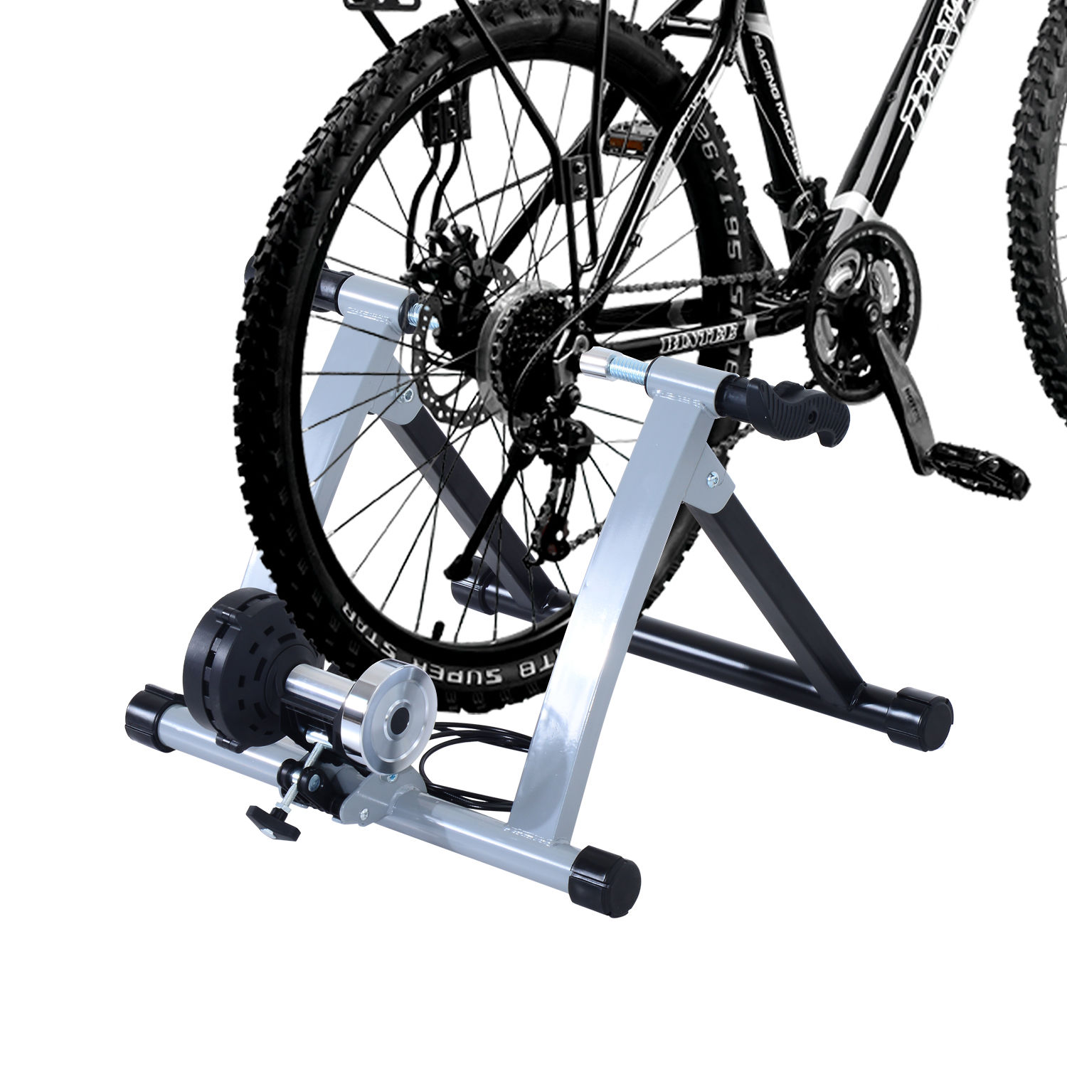 rollentrainer rennrad fahrrad heimtrainer magnetbremse. Black Bedroom Furniture Sets. Home Design Ideas