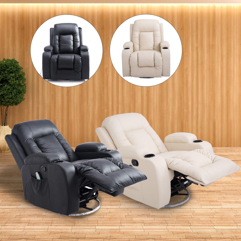 Homcom Massagesessel Relaxsessel Fernsehsessel TV Sessel Massage Heizfunktion