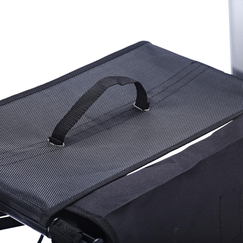 Homcom-Rollator-Rollstuhl-Gehwagen-Gehhilfe-Laufhilfe-Transportstuhl-klappbar