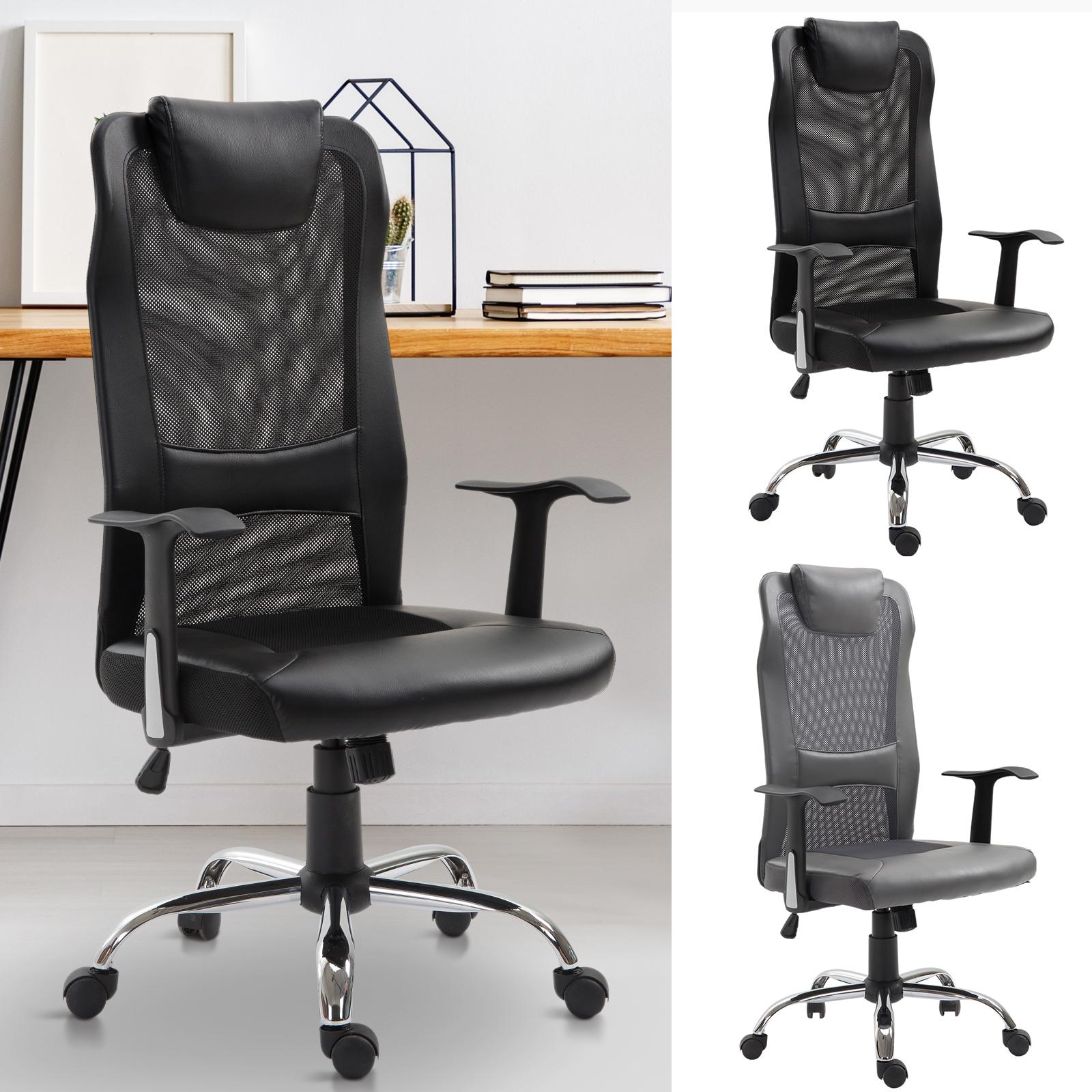 Vinsetto Bürostuhl Drehstuhl Chefsessel Schreibtischstuhl höhenverstellbar
