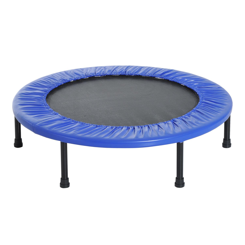 Trampolin-Minitrampolin-Sport-Fitness-Garten-Fitness-Stahl-PVC-2-Farben Indexbild 14