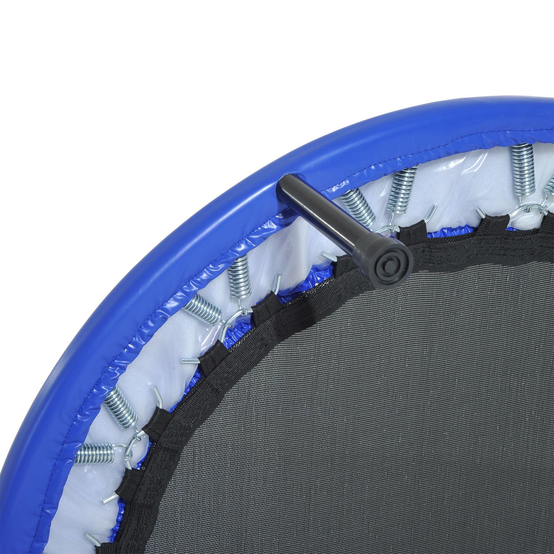 Trampolin-Minitrampolin-Sport-Fitness-Garten-Fitness-Stahl-PVC-2-Farben Indexbild 17