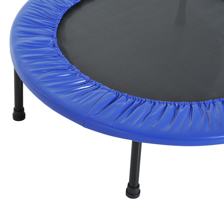 Trampolin-Minitrampolin-Sport-Fitness-Garten-Fitness-Stahl-PVC-2-Farben Indexbild 15