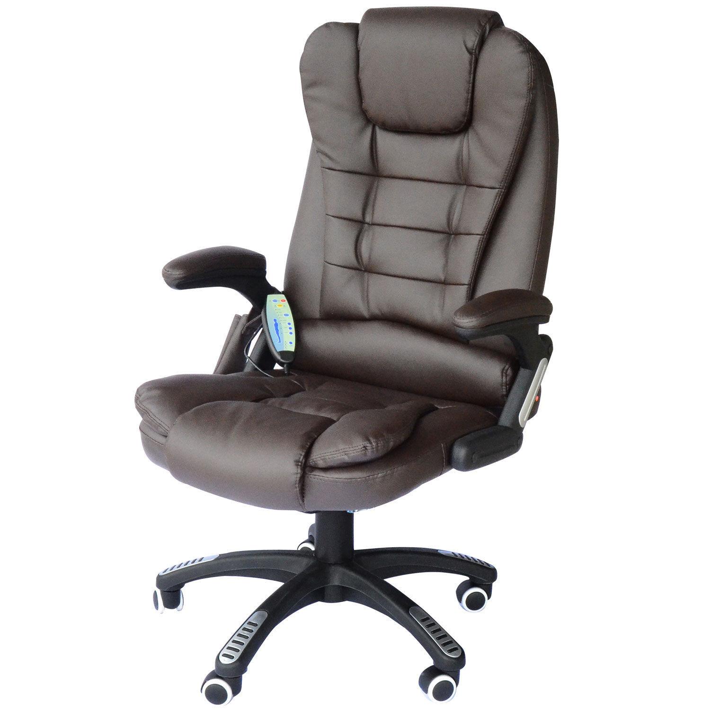 b rostuhl drehstuhl massagesessel mit w rmefunktion chefsessel b rosessel ebay. Black Bedroom Furniture Sets. Home Design Ideas