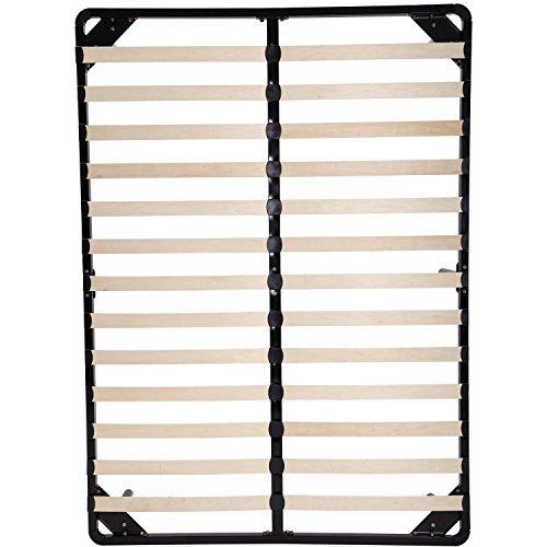 74 Quot 79 Quot Long Full Queen Size Wood Slat Platform Bed Frame