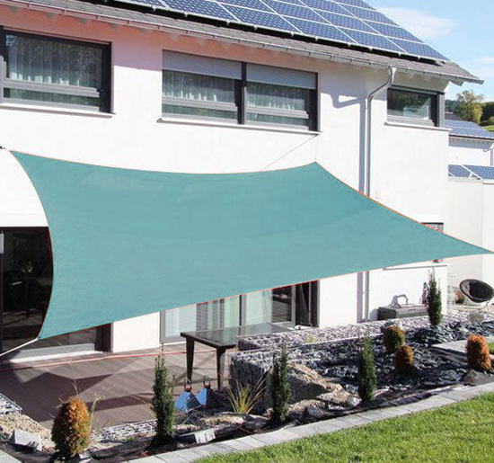 Sun-Shade-Sail-UV-Top-Cover-Outdoor-Canopy-Patio-Triangle-Square-Rectangle-w-Bag thumbnail 28