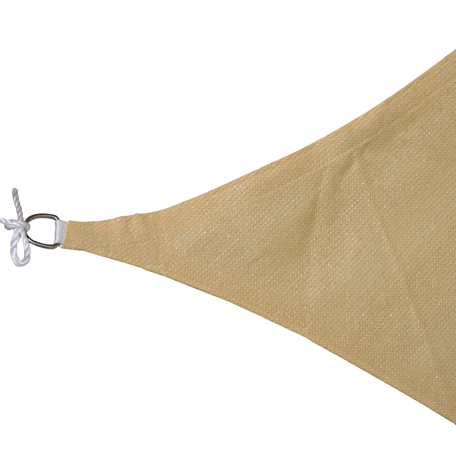 Sun-Shade-Sail-UV-Top-Cover-Outdoor-Canopy-Patio-Triangle-Square-Rectangle-w-Bag thumbnail 12