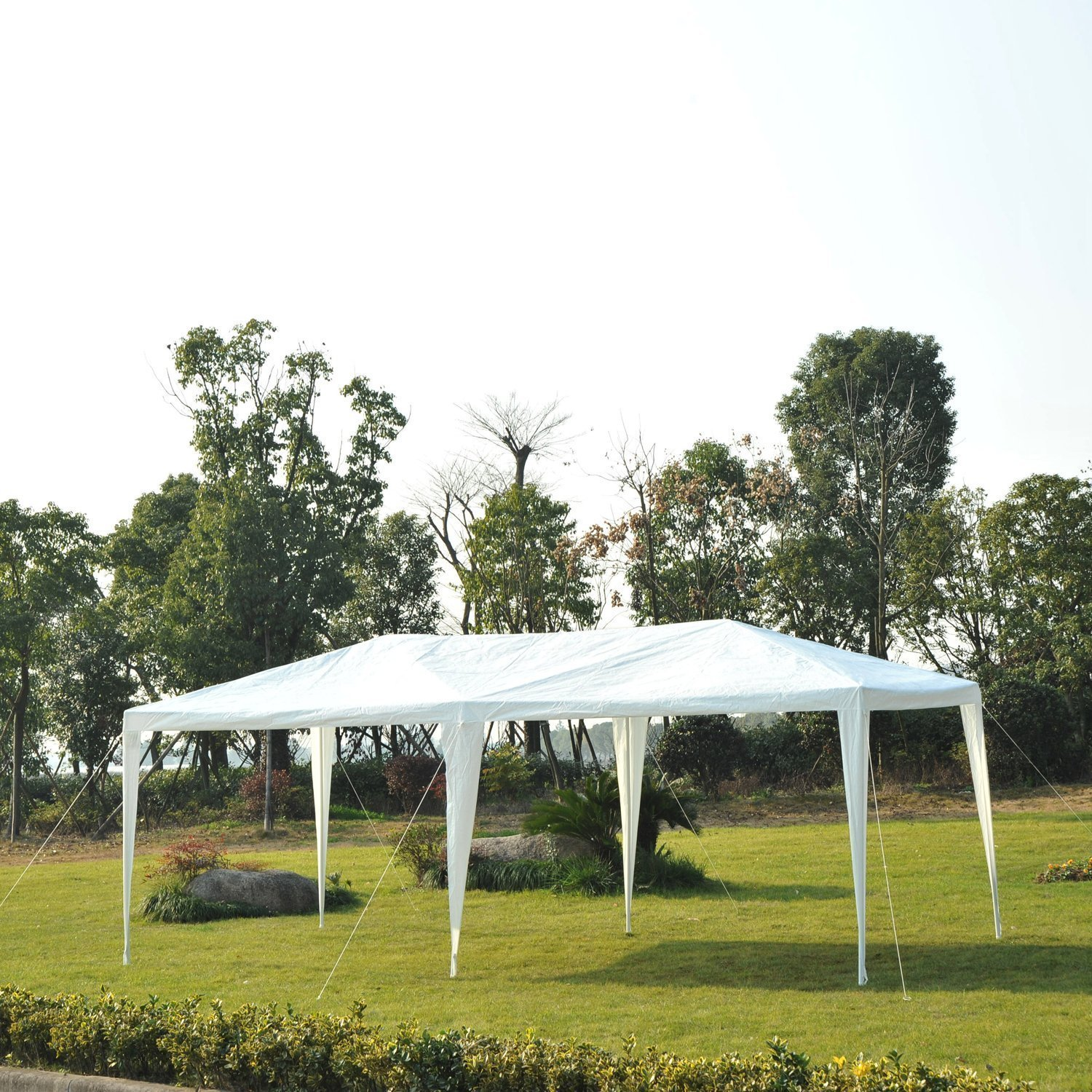 10-039-x-20-039-Gazebo-Canopy-Cover-Tent-Patio-Party-w-Removable-Mesh-Side-Walls thumbnail 14