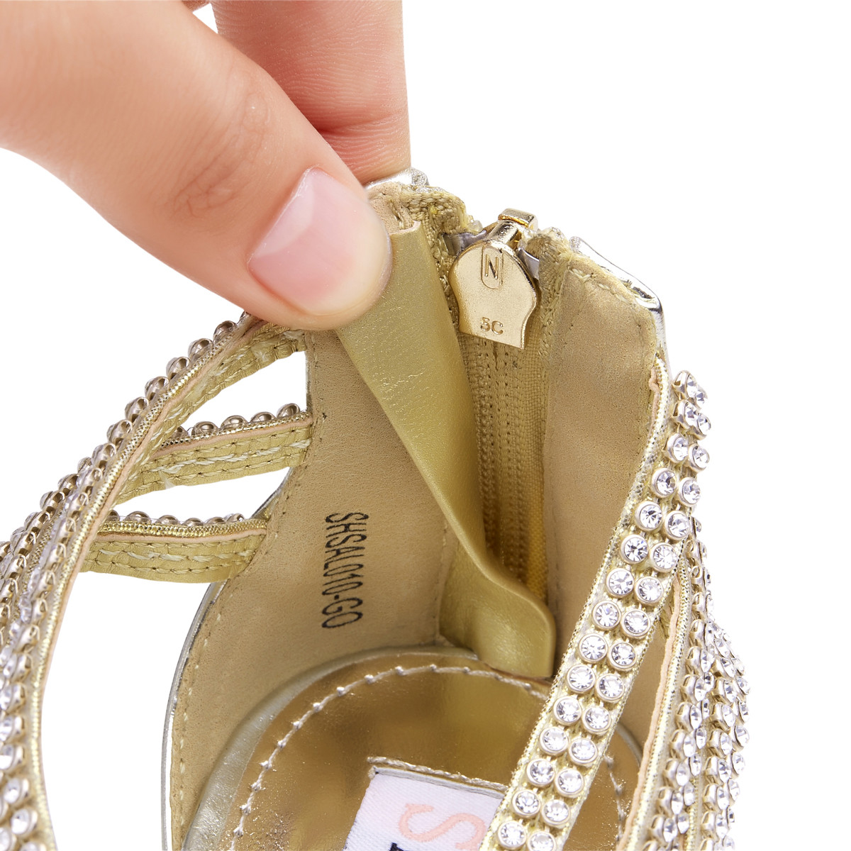 Womens-Ladies-Low-Kitten-Heel-Wedding-Glitter-Sandals-Strappy-Silver-Shoes thumbnail 23