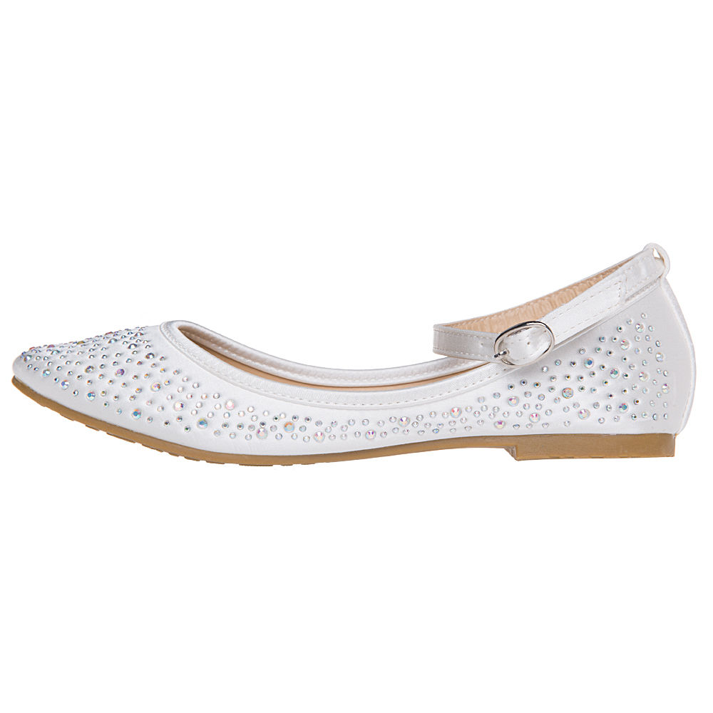 ee2443bf767 SheSole Womens Ladies Ballet Flats Ballerina Pumps Wedding Bridal ...