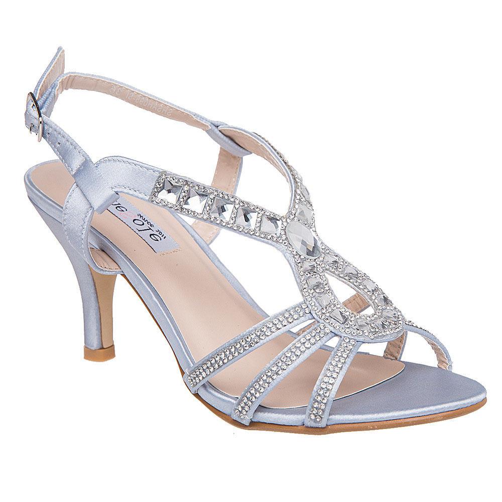 0edad8e14961d Shesole Womens Rhinestone High HEELS Dress Sandals Wedding Prom ...