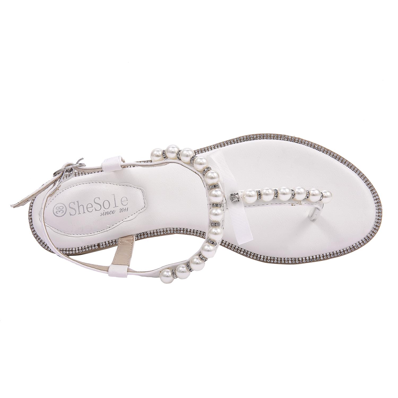 Flat Sandals Flip Flops Wedding Shoes