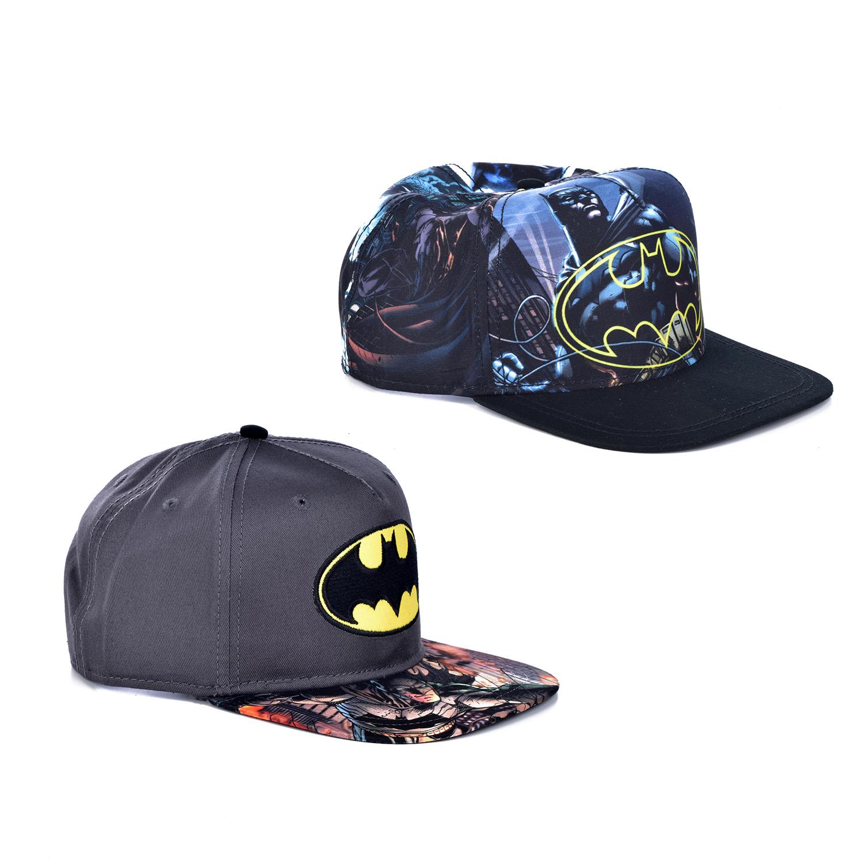 61f1435e59fe3 Details about NEW DC Comics Youth Batman Logo Snap-back Hat SB3ZB1BTM