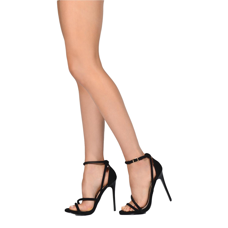 Life Stride Women/'s Kerra Heels Black #KERRA Buckle Closure 71L pp NEW