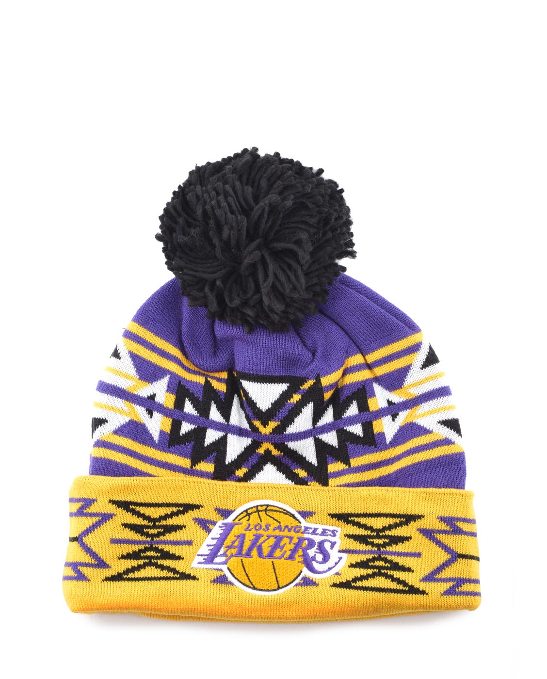 Details about NEW NBA TEAM LOS ANGELES LAKERS BEANIE 261a973866c7