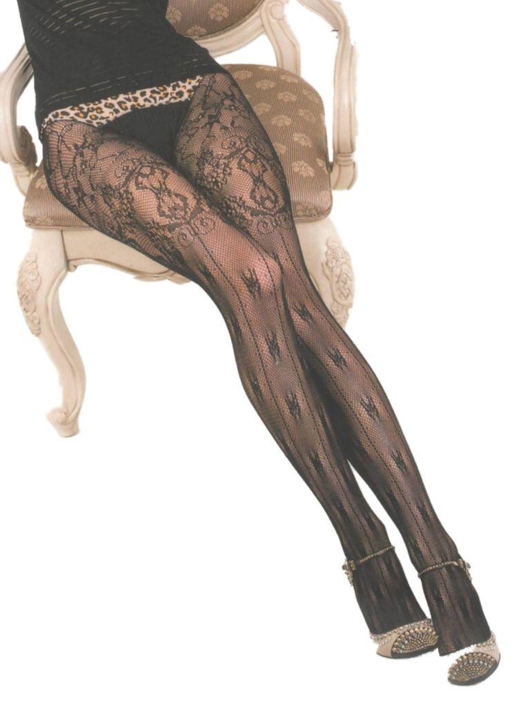 7e8a91217d Killer Legs Plus Size Fishnet Pantyhose French Boudoir 168YD030Q Black  Victorian Lace Yelete Queen