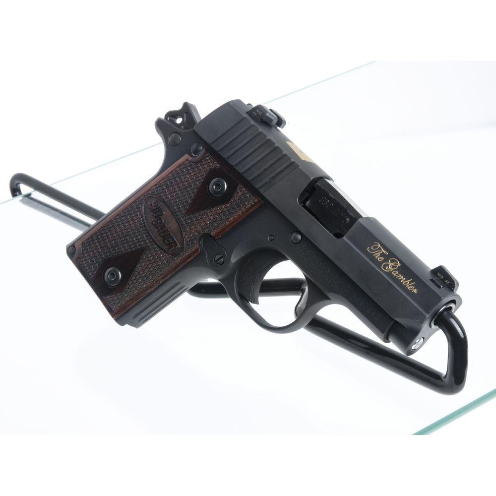 79977 Glass Shelf Gun Holder
