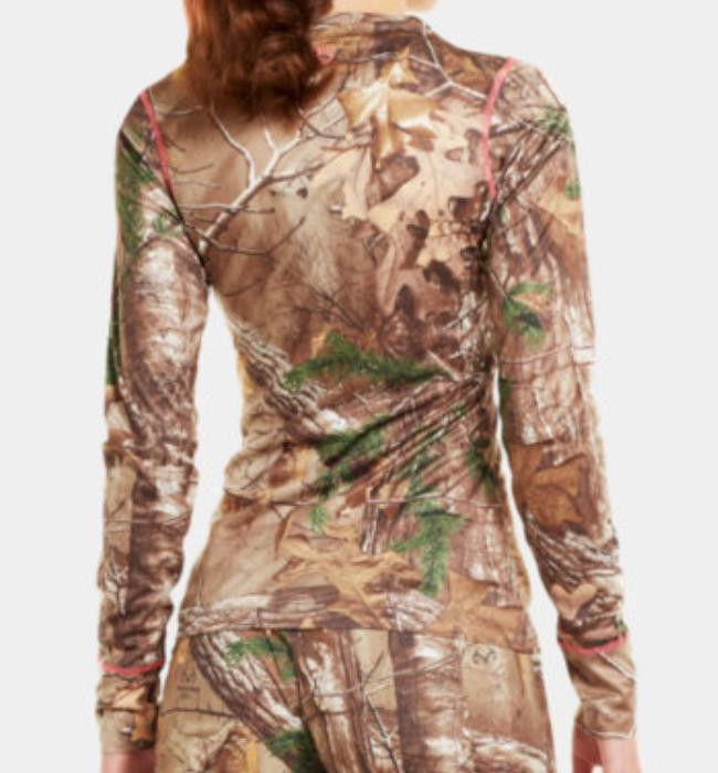 d57beb2e Under Armour Women's Camo EVO HeatGear Long Sleeve Shirt Realtree ...