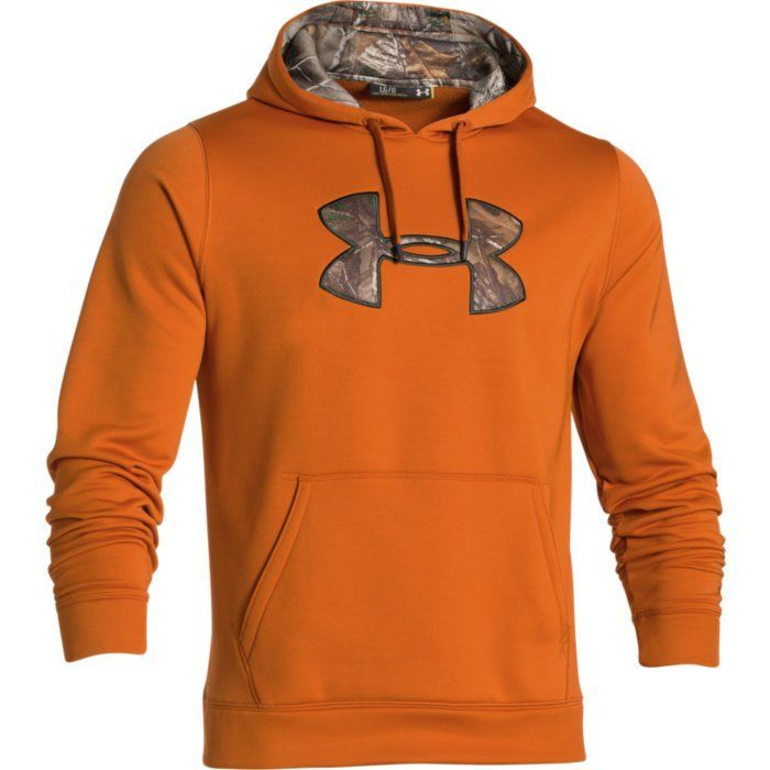 fefacc646054 Under Armour CG STORM Caliber Hoodie TALL (Orange   Realtree Xtra)  1253663-801