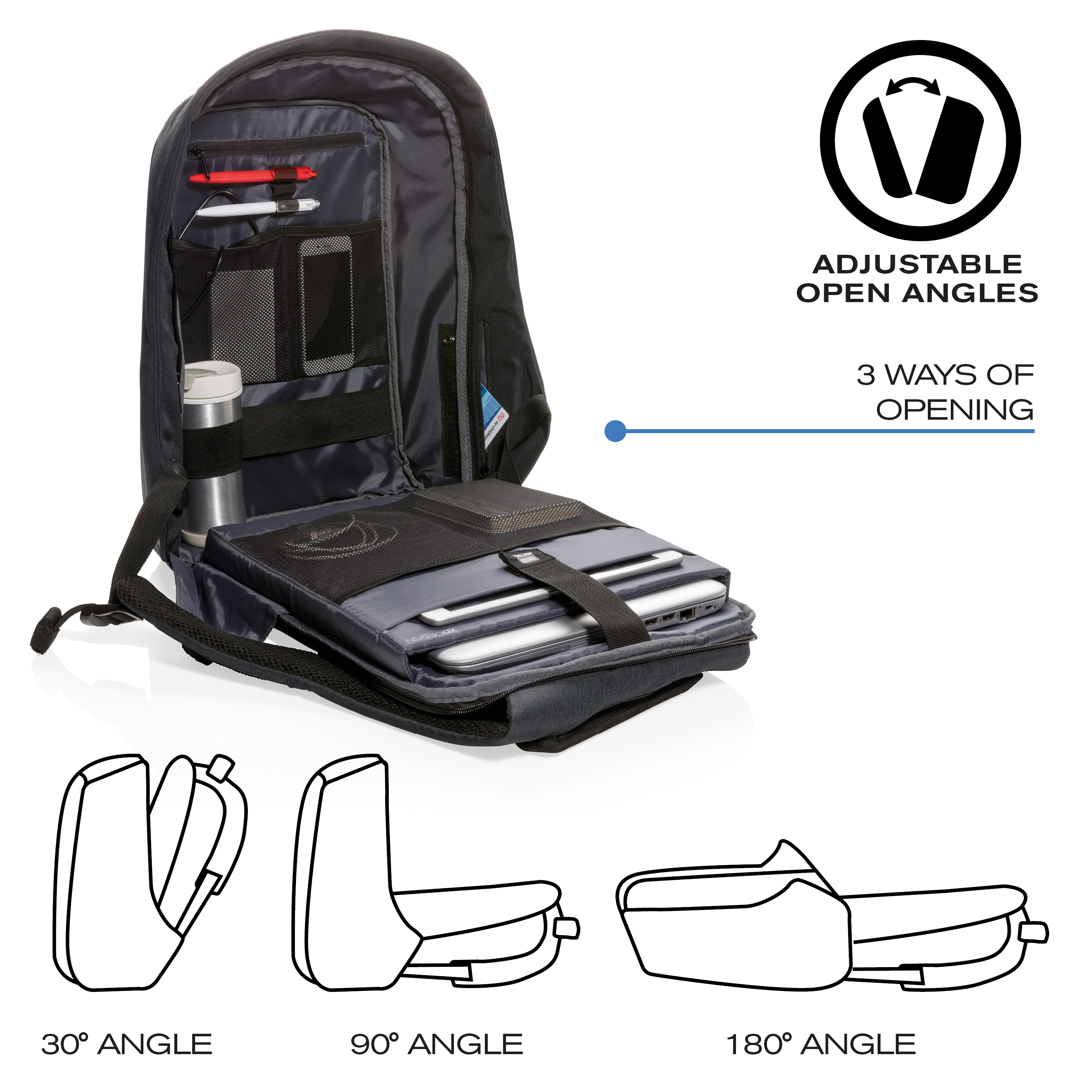 XD-Design-Bobby-XL-17-034-Anti-Theft-Laptop-Backpack-with-USB-Port-Unisex-Bag thumbnail 5