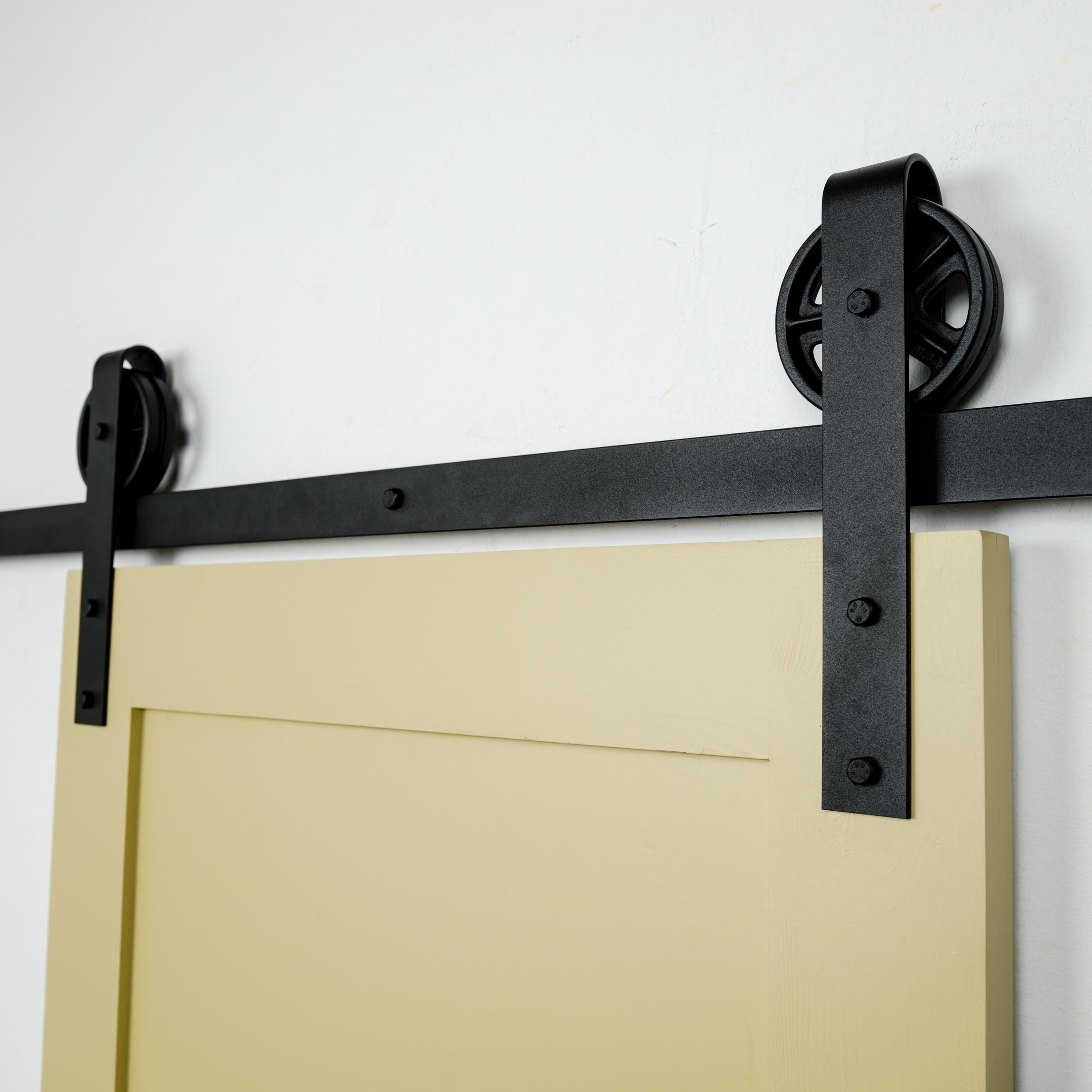 Artisan Hardware Vintage Strap Sliding Barn Door Hardware Kit Usa