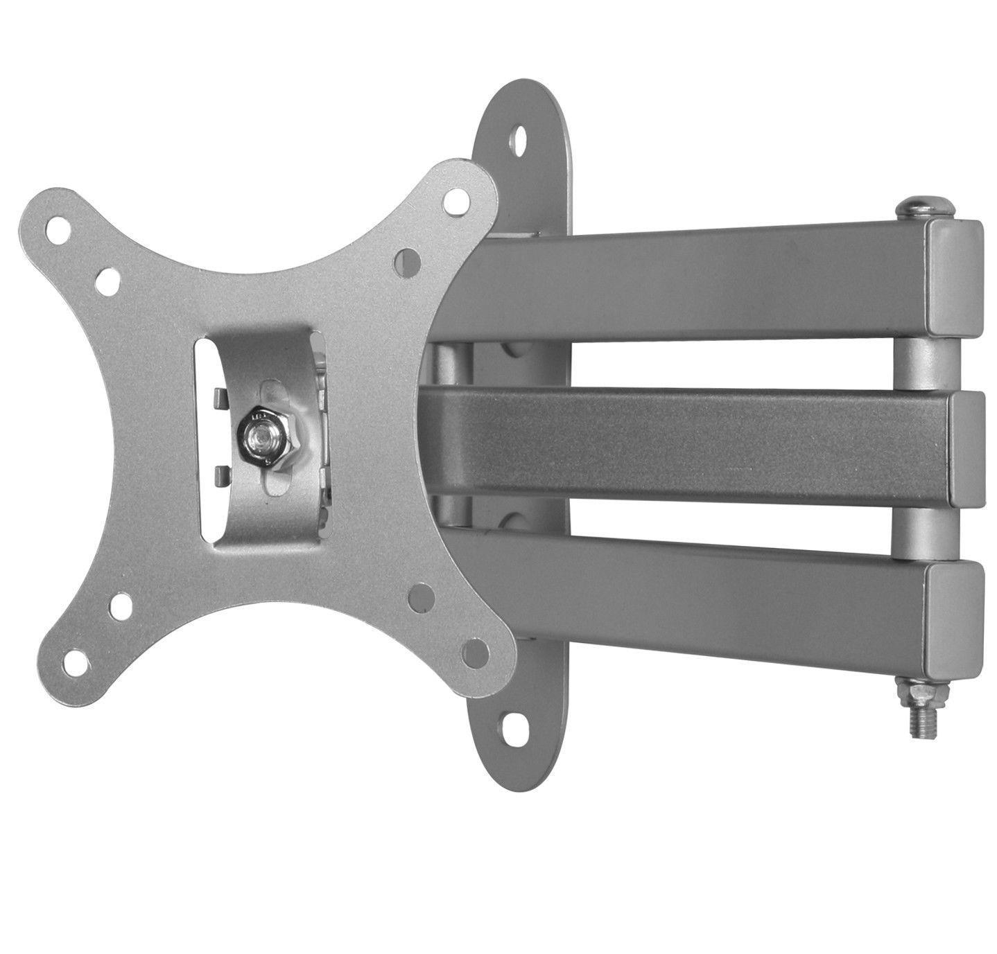 Full Motion Tilt Swivel Monitor TV Wall Mount