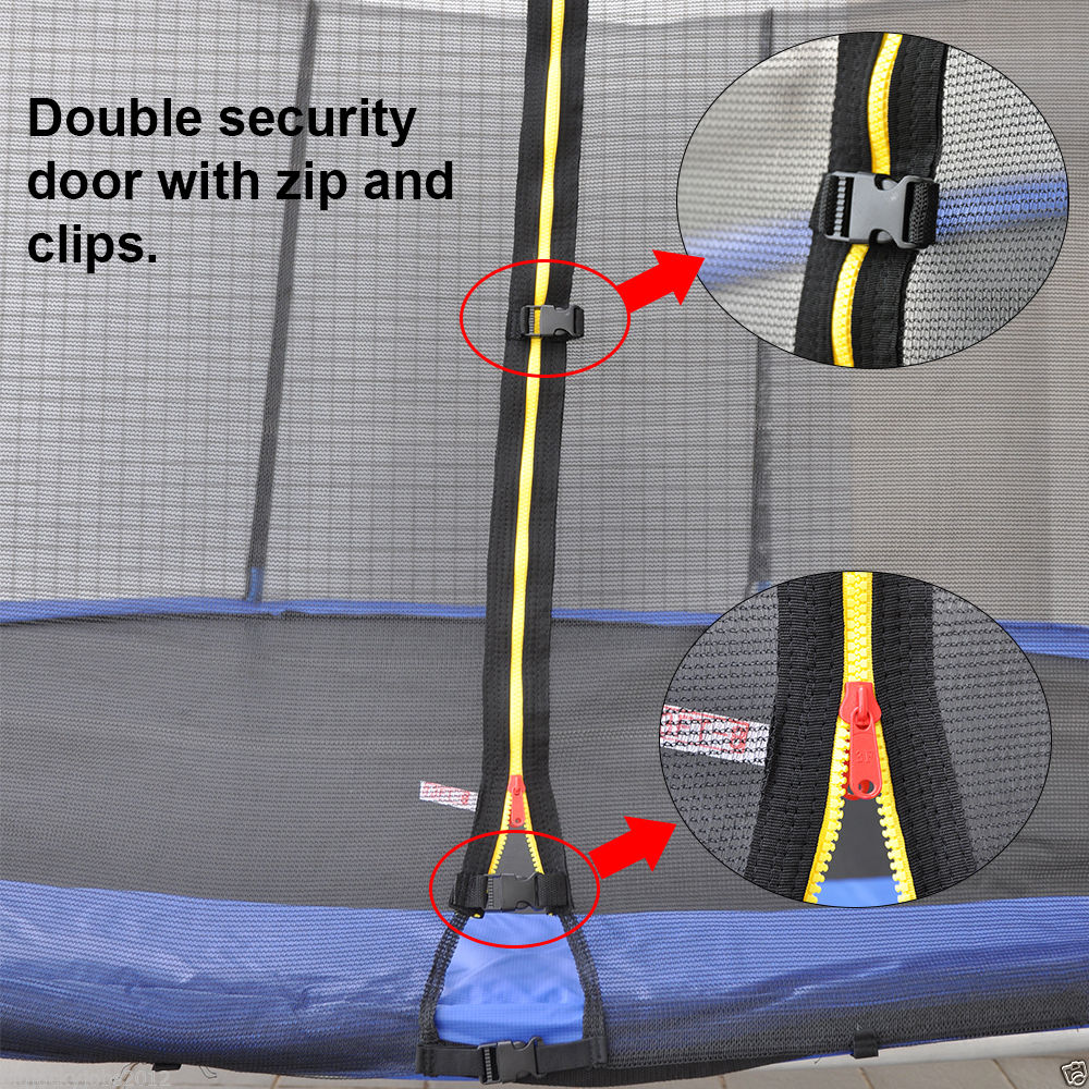 Replacement-Trampoline-Safety-Net-Enclosure-Surround-8-10-12-13-14Foot-6-8-Poles