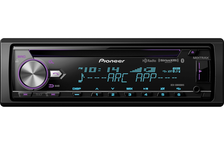 Pioneer DEH-X8800BHS CD Receiver Bluetooth & HD Radio Sirius