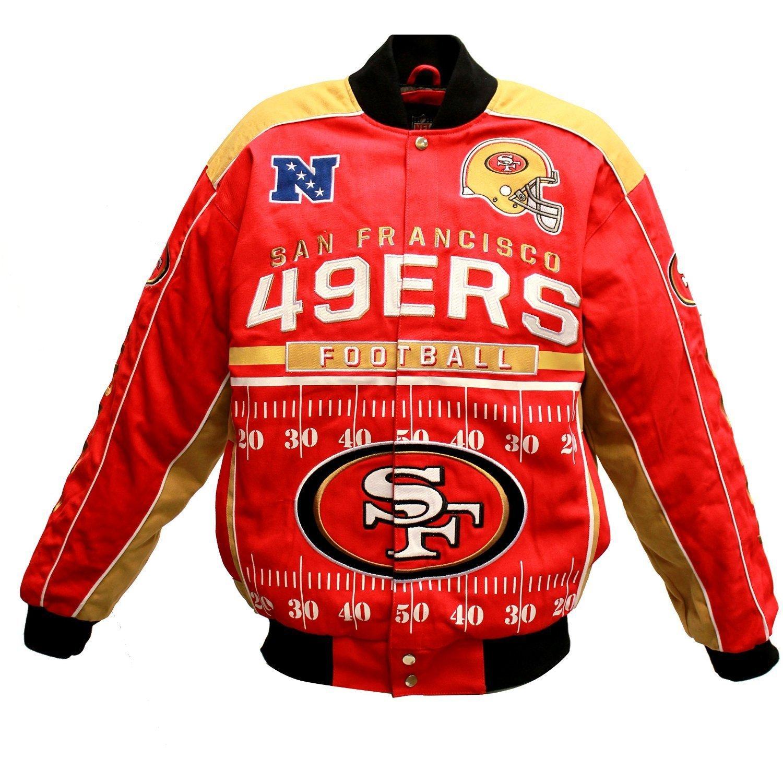 San Francisco 49ers Blitz Cotton Twill Big   Tall Jacket - 3XL eec13ae26