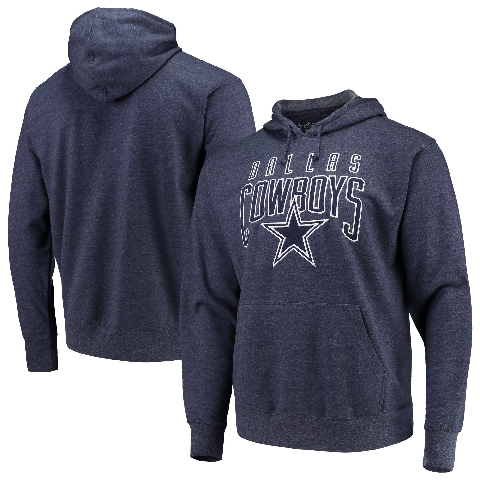 Dallas Cowboys Men s Navy Rico Pullover Hoodie - 4XL 6fb9a0f9b