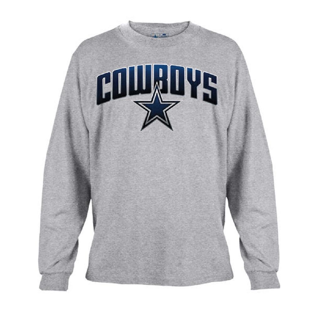 Dallas Cowboys Men s Gray Ascender Long Sleeve T-Shirt - 2XL 9948d0e86