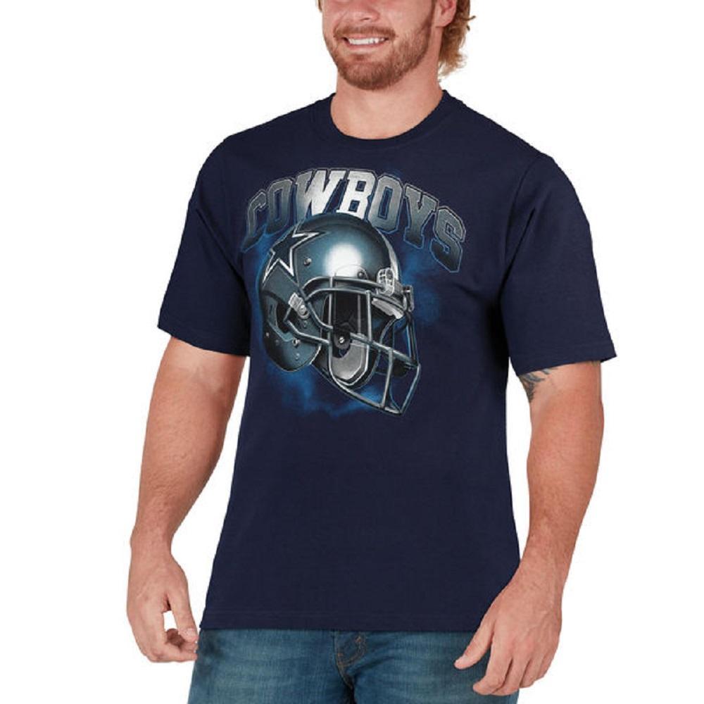 Dallas Cowboys Men s Vapor Helmet T-Shirt - M d1d24cccd