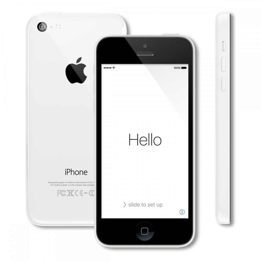 Apple iPhone 5c 8GB White SPRINT Pristine - decluttr Store