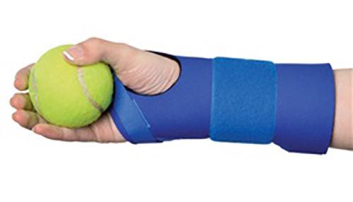 Alimed CTS Grip-Fit Splint, Hand Splint, Blue Neoprene, New