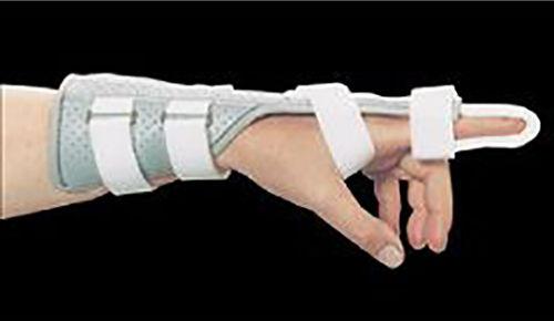 AliMed Universal Digit Splint Finger splint Light Grey 5398